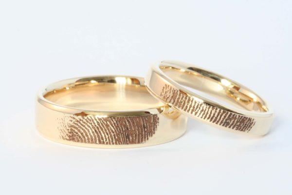 Matching Bands with Fingerprint