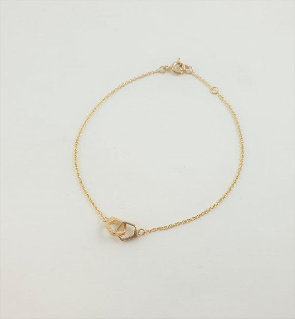9Y double quintette bracelet